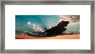 Rise And Shine Framed Print by Dorian Dogaru
