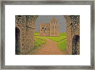 Rising Castle Framed Print by Jan W Faul