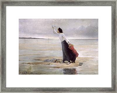 Rising Tide Framed Print by Uranie Colin Libour