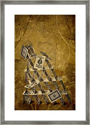 Risk Framed Print by Maggie Terlecki