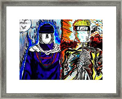 Rivals Framed Print by Seif Seif