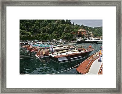 Rivas Portofino Framed Print by Steven Lapkin