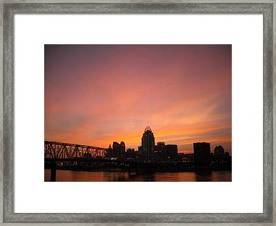 River City Framed Print by Peter  McIntosh