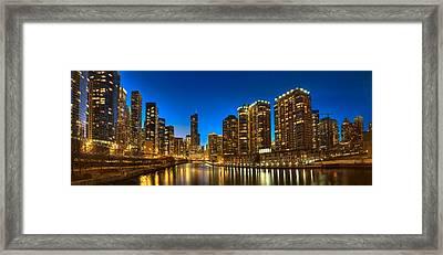 River East Chicago Framed Print by Steve Gadomski