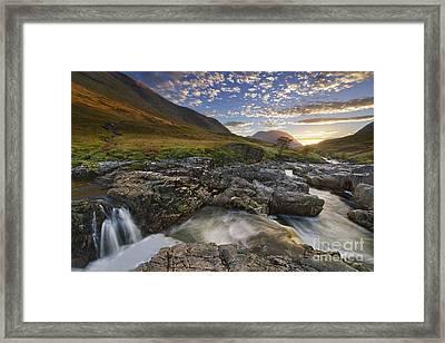 River Etive 2 Framed Print by Rod McLean
