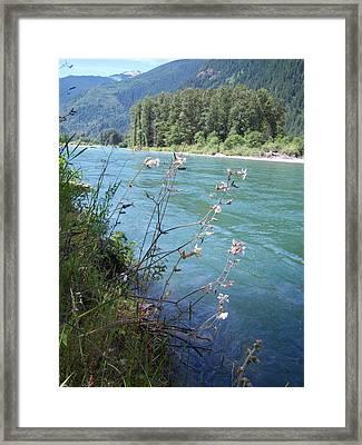 River Framed Print by Ken Day