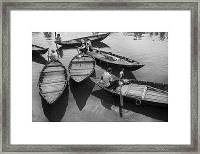 River Life Framed Print by Robert Lacy