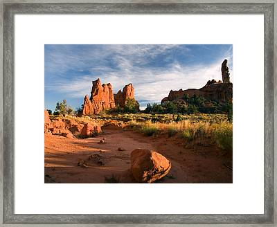 River Of Sand Framed Print by Mike  Dawson