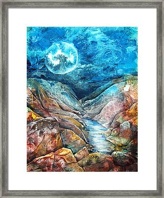 River Of Souls Framed Print by Patricia Allingham Carlson