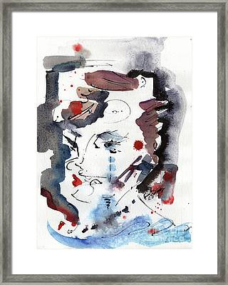 River Of Tears Framed Print by Ginette Callaway
