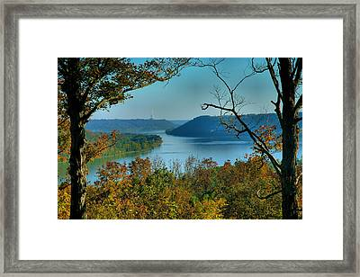 River View I Framed Print by Steven Ainsworth