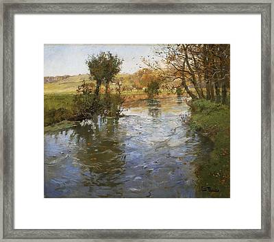 River View Framed Print by MotionAge Designs