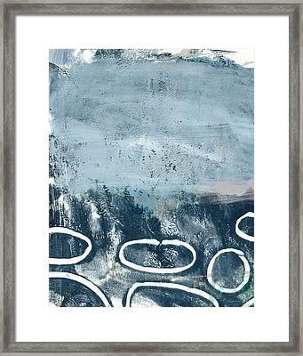 River Walk 2- Art By Linda Woods Framed Print by Linda Woods