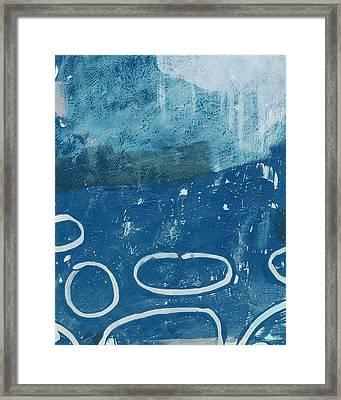 River Walk 3- Art By Linda Woods Framed Print by Linda Woods