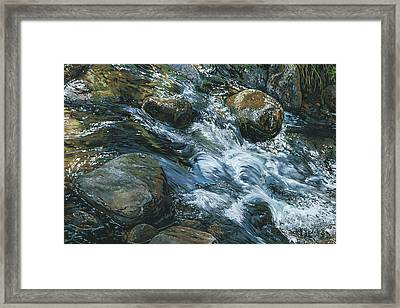 River Water Framed Print by Nadi Spencer