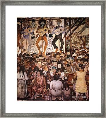 Rivera: Day Of The Dead Framed Print by Granger
