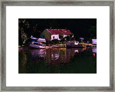 Riverside Reflections Framed Print by Stuart Parnell