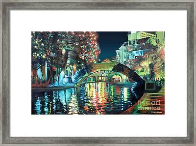 Riverwalk Framed Print by Baron Dixon