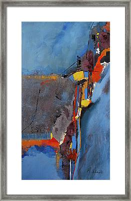 Road To Damascus Framed Print by Ruth Palmer