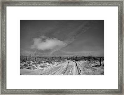 Road To... Framed Print by Mario Celzner
