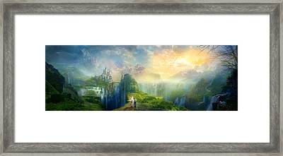 Road To Oalovah Framed Print by Philip Straub