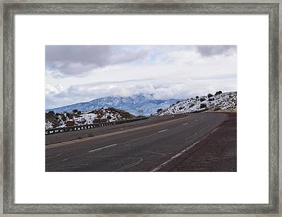 Road View Framed Print by Curtis Willis