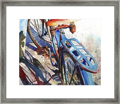 Roadmaster Framed Print by Andrew King