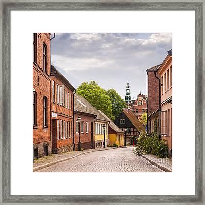Roads Of Lund Framed Print by Antony McAulay