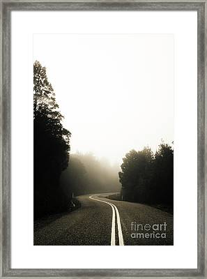 Roads Of Twists And Turns Framed Print by Jorgo Photography - Wall Art Gallery