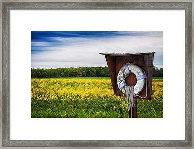 Roadside Assistance Framed Print by Tom Mc Nemar