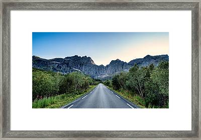 Roadtrip Framed Print by Tor-Ivar Naess