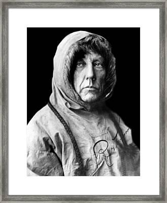 Roald Amundsen, The First Person Framed Print by Everett