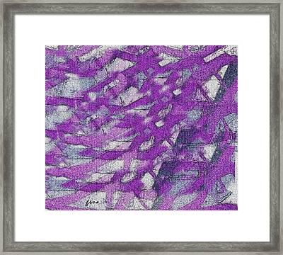 Roamers Framed Print by Gina Seymour