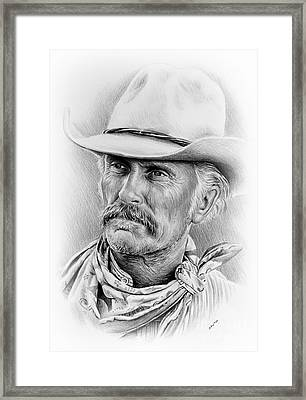 Robert Duvall Ver Two Signed Framed Print by Andrew Read