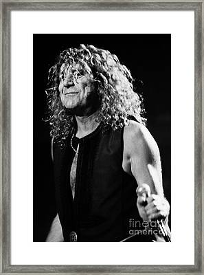 Robert Plant-0039 Framed Print by Timothy Bischoff