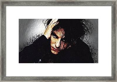Robert Smith - The Cure  Framed Print by Taylan Soyturk