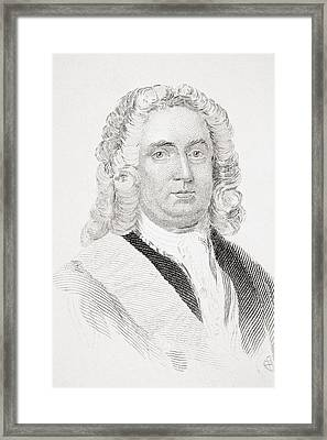 Robert Walpole 1st Earl Of Orford Framed Print by Vintage Design Pics