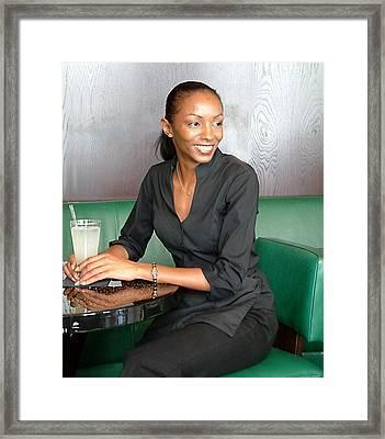 Roberta Framed Print by Aleck Rich Seddon