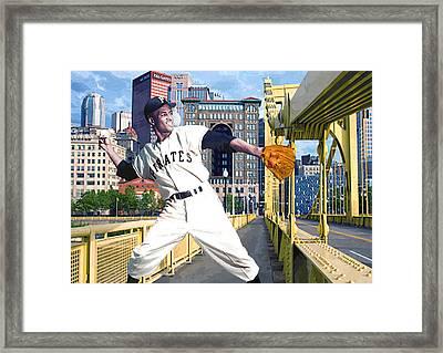 Roberto's Bridge Framed Print by George Curcio