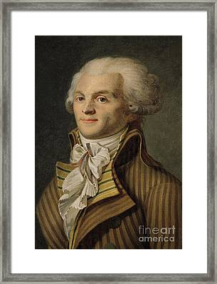 Robespierre Framed Print by French School