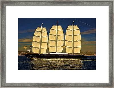 Robo Sail Framed Print by Gennadiy Golovskoy