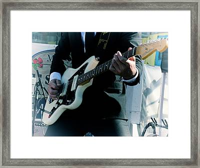 Rock And Roll 2 Framed Print by Bob Christopher