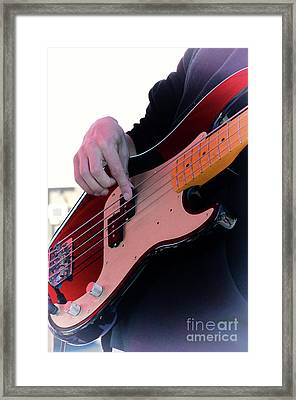 Rock And Roll 4 Framed Print by Bob Christopher