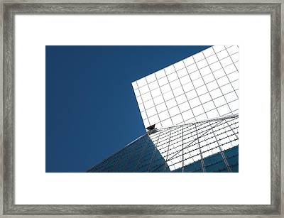 Rock And Roll Hall Of Fame Exterior - Cleveland, Ohio Framed Print by Mitch Spence