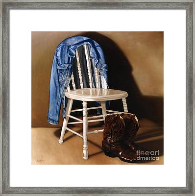 Rock And Roll Framed Print by Larry Preston