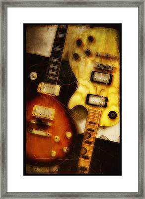 Rock And Roll Never Forgets Framed Print by Bill Cannon