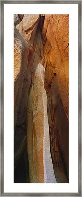 Rock Formations, Lands End, Cabo San Framed Print by Panoramic Images