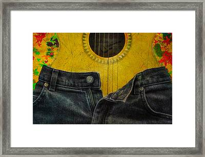 Rock Me Baby Framed Print by Bill Cannon