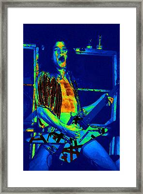 Rock 'n' Roll The Cosmic Blues Framed Print by Ben Upham
