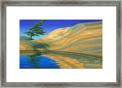 Rock Of Ages Framed Print by Michael Swanson
